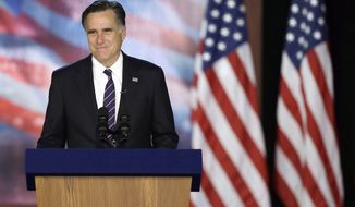 """Not quite done with politics? Mitt Romney tops 14 other contenders in a new presidential poll and is crowned a """"kingmaker"""" in the press. (Associated Press)"""