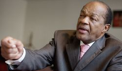 **FILE** D.C. Council member Marion Barry (Andrew Harnik/The Washington Times)