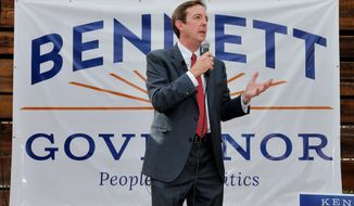 """If I was governor, the first time a bus showed up at one of our bus depots would have been the only time that would have happened,"" says Ken Bennett, a Republican front-runner in the Arizona gubernatorial contest. (Associated Press)"