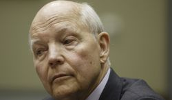 Internal Revenue Service Commissioner John Koskinen testifies under subpoena before the House Oversight Committee as lawmakers continue their probe of whether tea party groups were improperly targeted for increased scrutiny by the IRS, on Capitol Hill in Washington, Monday, June 23, 2014. The IRS asserts it can't produce emails from several officials connected to the tea party investigation because of computer crashes, including the emails from Lois Lerner, the former IRS official at the center of the investigation.   (AP Photo/J. Scott Applewhite)