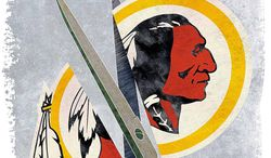 Redskins Clipped Illustration by Greg Groesch/The Washington Times