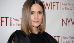 "FILE - This June 18, 2014 file photo shows actress Rose Byrne attends the New York Women in Film & Television Honors gala at the McGraw-Hill Building in New York. Byrne will join the cast of ""You Can't Take It With You."" Previews will begin in August at the Longacre Theatre, with official opening set for Sept. 28. Scott Ellis will direct. (Photo by Evan Agostini/Invision/AP, File)"