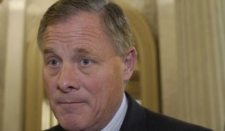 "Sen. Richard Burr, North Carolina Republican and ranking member of the Senate Committee on Veterans', said of a potential cash infusion to the VA: ""This is ludicrous. It is impossible for us to even start an intelligent conversation on what we put in legislation when we have numbers that are so grotesquely out of line."" (Associated Press)"