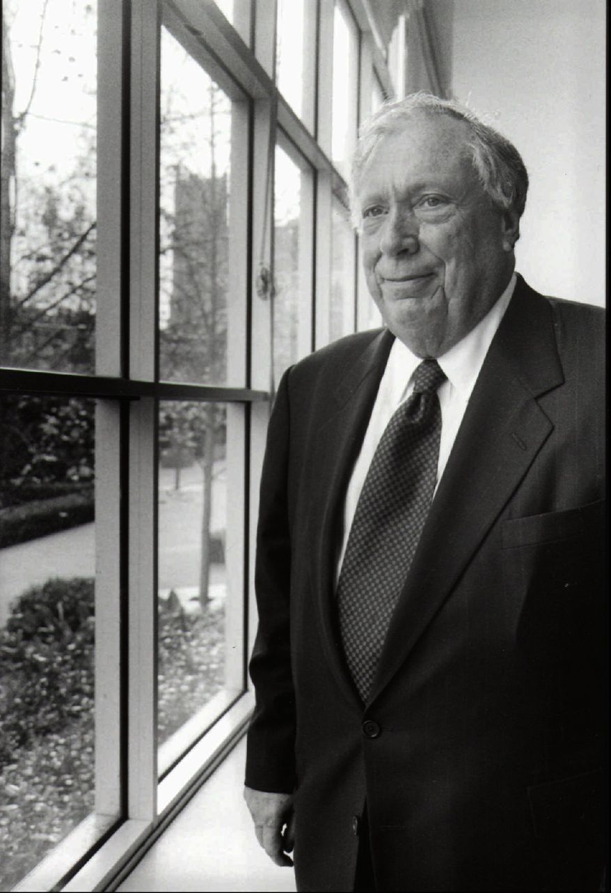 "U.S. Circuit Judge Stephen Reinhardt, pictured in 1997, was part of a unanimous January ruling of the 9th Circuit Court upholding that the Supreme Court ""did not expressly announce the level of scrutiny"" for sexual orientation in its Windsor case ruling last June. A federal appeals court let stand a ruling that gays cannot be dismissed from a jury pool because of their sexual orientation. (AP Photo/Stephanie Turner, File )"