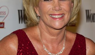 Joan Lunden, the former 'Good Morning America' host, says she has breast cancer. She revealed her diagnosis on the show itself. (AP Photo/Charles Sykes)