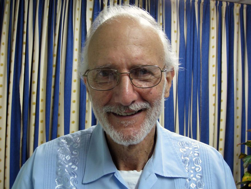 American Alan Gross, sentenced as a spy in Havana, Cuba, is on a hunger strike in prison and has said he wants to die. (AP Photo/James L. Berenthal, File)