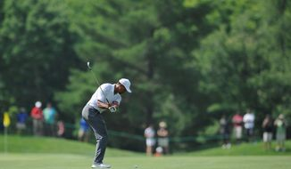 Despite insisting he is in top form, Woods faces questions about his health and age as he returns to the pro tour following an injury. (associated press)