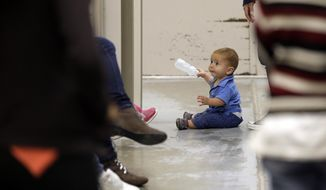 President Obama will ask Congress for $2 billion to deal with the crisis that has seen thousands of unaccompanied children, mostly from Central America, illegally surge across the U.S.-Mexico border.  (AP Photo/Eric Gay, Pool)