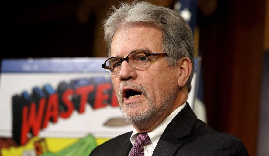 A GAO report requested by Sen. Tom Coburn found the Pentagon pays more for prescription drugs than does either Medicare or Medicaid. (Associated press)