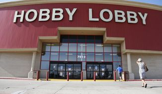 "The government's efforts to force Hobby Lobby, run by a devout Christian family, to pay for abortifacient products in its employee health insurance is featured in the docudrama, ""One Generation Away,"" which was viewed in some 200 churches by simulcast Feb. 4. (AP Photo/Sue Ogrocki, File)"
