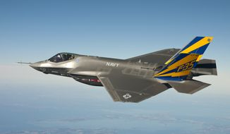 A group of concerned citizens in Vermont is suing the Air Force to prevent F-35 jets from being based at a local airport. (U.S. Navy photo courtesy Lockheed Martin/Released)
