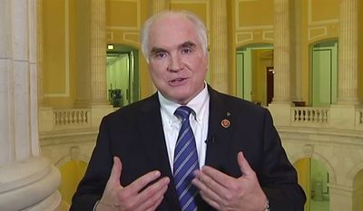 Mike Kelly, Congresswoman PA-03 discusses the size of government (TellDC screenshot)