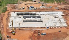 Ground was broken in April for Elite Shooting Sports just off Interstate 66 in Prince William County, Virginia, and crews have been working to open it on schedule in October.