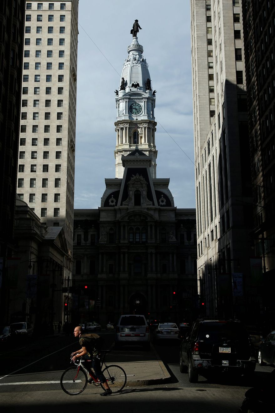 """Mayor Michael Nutter's executive order declared Philadelphia a """"sanctuary city"""" for illegals. (associated press)"""
