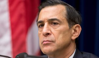 Rep. Darrell Issa, California Republican, says that some gun and ammo sellers have been swept up in a fraud prevention program. (Associated Press)