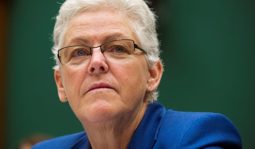 Under Gina McCarthy,  The EPA has been flexing its regulatory muscle, collecting more fines and hitting individuals with penalties for violating environmental rules. (Associated Press)
