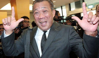 "Malaysian member of parliament Bung Moktar Radin is receiving widespread criticism after he tweeted ""long live Hitler"" in response to Germany's win over Brazil Tuesday at the World Cup. (The Malaysian Star)"