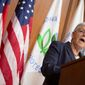 Environmental Protection Agency Administrator Gina McCarthy said the agency is considering a ban on certain hydrofluorocarbons (HFCs), used in many industrial and consumer products, as part of the Obama administration's climate change efforts. The Clean Air Act allows the agency to restrict certain pollutants if there are available alternatives, though no HFC alternatives have been suggested. (Associated Press)