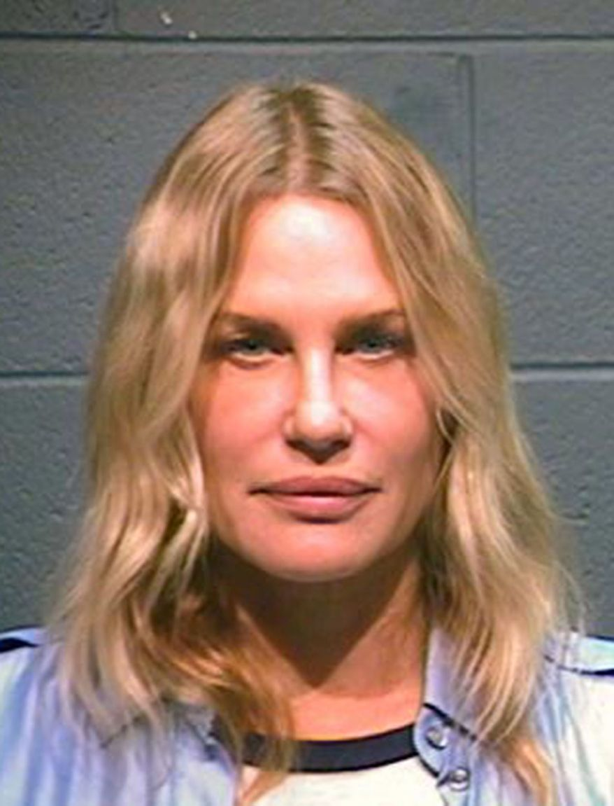 DARYL HANNAH - This booking photo provided by the Wood County Sheriff shows actress Daryl Hannah after her arrest in Winnsboro, Texas, Thursday, Oct. 4, 2012. Hannah has been arrested along with a 78-year-old northeast Texas landowner while protesting construction of a pipeline designed to bring crude oil from Canada to Gulf Coast refineries. (AP Photo/Wood County Sheriff)