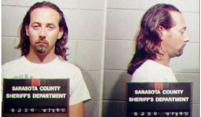PAUL REUBENS - the actor known as Pee-Wee Herman, is shown July 29, 1991 in this police booking mug from the Sarasota County Sheriff's department. He was arrested on charges of indecent exposure in an adult movie theater. (AP Photo)