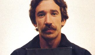 Actor Tim Allen is shown in this 1979 mugshot from the Kalamazoo, Mich. sheriff's department after being arrested for dealing cocaine. (AP Photo/ho)