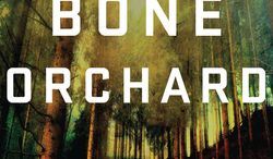"""This book cover image released by Minotaur shows """"The Bone Orchard,"""" by Paul Doiron. (AP Photo/Minotaur)"""