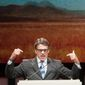 Texas Gov. Rick Perry is using his final months in office to generate national headlines, whether it is a photo op with President Obama, taking on a U.S. senator over his Iraq policy or delivering a popular speech at the Conservative Political Action Conference. (Associated Press Photographs)