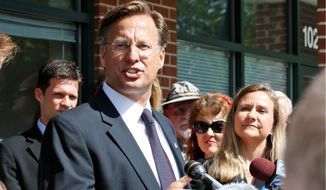 "Republican 7th District congressional candidate David Brat said he was ""extremely disappointed"" that the 7th District congressional committee chose not to spend more funds locally on voter outreach for his race. (Associated Press)"