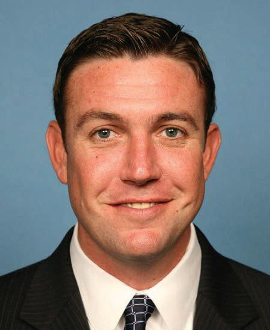 Rep. Duncan Hunter, California Republican, speculated that the reason the Army returned Sgt. Bowe Bergdahl to active duty was so that it would be able to bring him up on a court martial. (Associated Press)