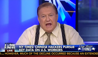 "California State Sen. Ted Lieu, who is currently running for Congress, called on Fox News Host Bob Beckel to resign immediately after statements he made on ""The Five"" about Chinese people. (Fox News)"