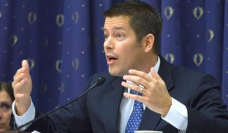 Rep. Sean Duffy, Wisconsin Republican, says that Operation Choke Point seems to target business because the Department of Justice suspect they are fraudulent, not because of any actual evidence of wrongdoing. (Associated Press Photographs)
