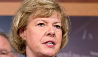 """Sen. Tammy Baldwin, Wisconsin Democrat, said too many states are """"trying to turn back the clock"""" on women's access to quality care by passing restrictive provisions on abortions or abortion providers."""