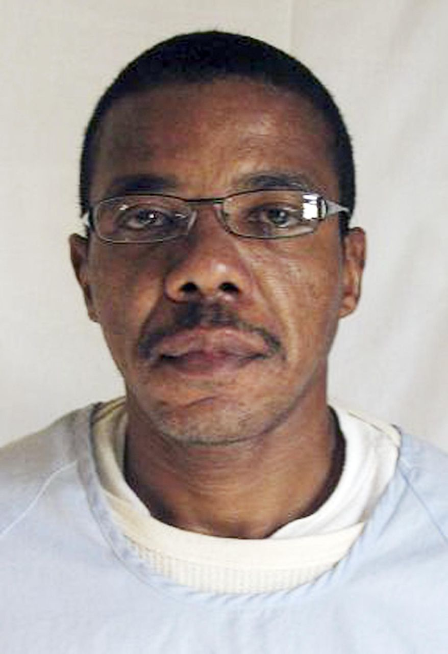 This undated image provided by the California Department of Corrections and Rehabilitation shows inmate Ernest Dewayne Jones. On Wednesday July 16, 2014, a federal judge ruled California's death penalty unconstitutional, writing that lengthy and unpredictable delays have resulted in an arbitrary and unfair capital punishment system. The case was brought Jones, a death row inmate, against the warden of San Quentin state prison. (AP Photo/ California Department of Corrections and Rehabilitation)