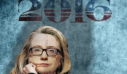 Hillary Prospects 2016 Illustration by Greg Groesch/The Washington Times