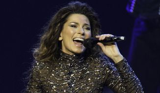 Shania Twain had a two-year residency at Caesars Palace in Las Vegas. (AP, File)