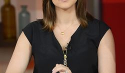 """This photo released by ABC shows Paula Faris of ABC News. Faris is replacing the departing Bianna Golodryga as the news anchor on the weekend edition of """"Good Morning America."""" ABC News said Monday, July 21, 2014, that Faris will start Aug. 8.  (AP Photo/ ABC,Ida Mae Astute)"""