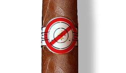 Illustration on FDA bans on certain types of cigars by Alexander Hunter/The Washington Times