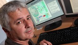 ** FILE ** This 2013 file photo provided by Cardiff University shows Dr. Michael O'Donovan, deputy director of the MRC Centre for Neuropsychiatric Genetics and Genomics at Cardiff University School of Medicine in Cardiff, Wales, United Kingdom. Scientists have pinpointed more than 100 spots in our DNA code linked to the risk of schizophrenia, lighting up some little-known pathways that make the mysterious disease tick. (AP Photo/Cardiff University School of Medicine)