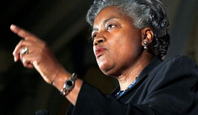 "Democratic strategist Donna Brazile played the gender card on ABC's ""This Week"" during a discussion of the Obamacare contraceptives mandate promulgated by the Department of Health and Human Services. (Associated Press)"