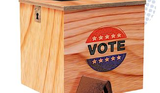 Voting with the Ballot and the Wallet Illustration by Greg Groesch/The Washington Times
