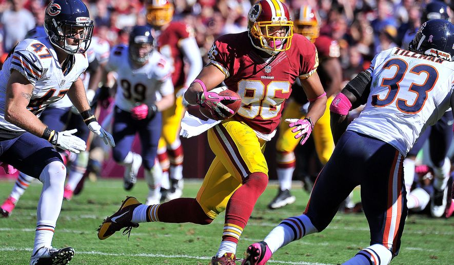 The Redskins believe they could have a potential game-changer in tight end Jordan Reed (86), who battled a long list of ailments last year. (ThE WASHINGTON TIMES)