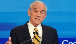 """Former Rep. Ron Paul describes his new voicesofliberty.com website as a """"digital bully pulpit"""" for early stage political ideas. (Associated Press) ** FILE **"""