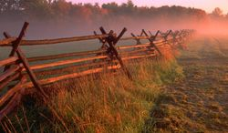 A battlefield site in Monmouth, New Jersey. (National Park Service photo)