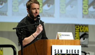 """Chris Hardwick attends """"The Walking Dead"""" panel on Day 2 of Comic-Con International on Friday, July 25, 2014, in San Diego in this file photo. (Photo by Chris Pizzello/Invision/AP) **FILE**"""