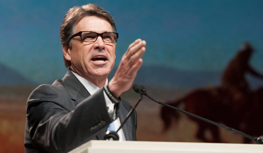 Rick Perry has been governor of Texas since Dec. 21, 2000, when his predecessor stepped down to move into the White House. (Associated Press)