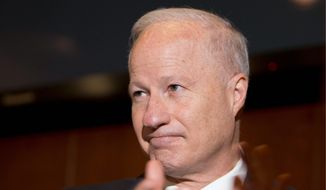 """""""Let Israel win!"""" Rep. Mike Coffman, Colorado Republican, said that being a supporter of Israel """"means that I will stand shoulder to shoulder with Israel in the recognition that Hamas is a terrorist state and that Israel should never negotiate with terrorists."""" (Associated Press)"""