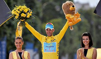 Vincenzo Nibali won the Tour de France on Sunday, becoming the first Italian in 16 years to triumph in cycling's greatest race by chiseling a lead over his main rivals a few seconds at a time and dominating them in the mountains. (Associated Press)