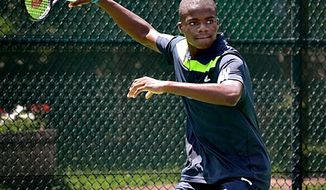 Francis Tiafoe, a 16-year-old with dreams of becoming No. 1 in the world, makes his ATP main draw debut Monday at the Citi Open. (Junior Tennis Champions Center)
