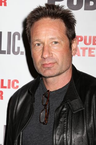 "**FILE** Actor David Duchovny attends the opening night performance of ""The Library"" at the Public Theater in New York on April 15, 2014. (Greg Allen/Invision/Associated Press)"