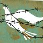 Illustration on Mideast peace by Donna Grethen/Tribune Content Agency